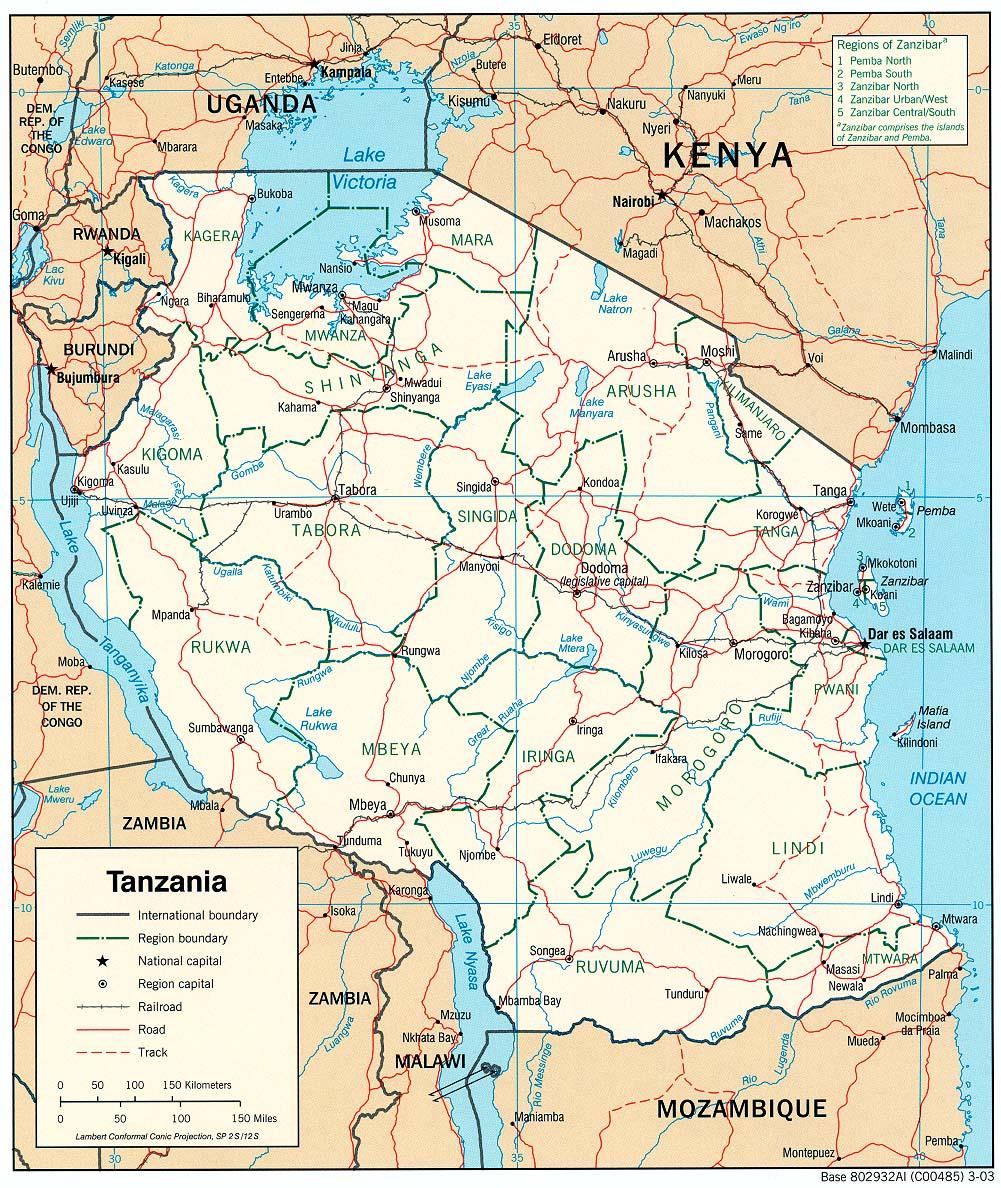 mapa-tanzania